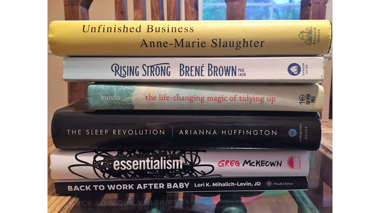 A Working Mama's 2017 Summer Reading List: 6 Inspiring Reads