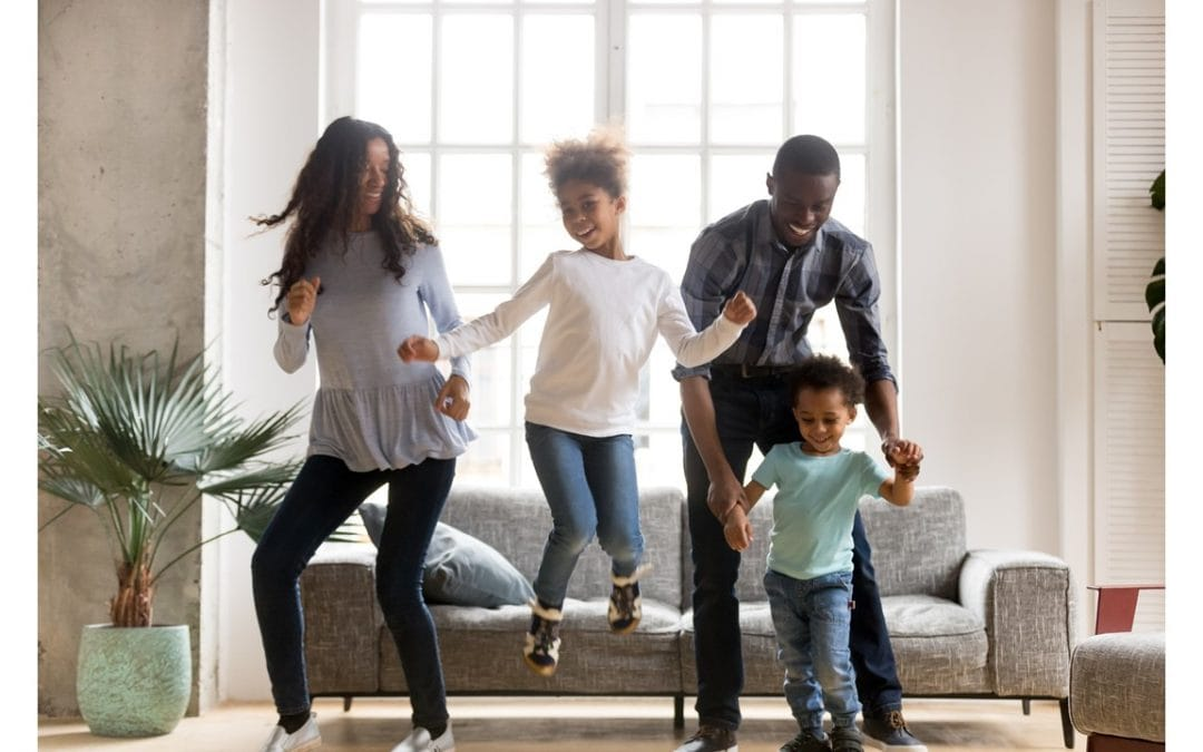 The Family Clean-Up Dance Party: My 2019 Sanity Invention