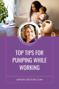 pumping while working